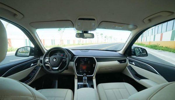 Nội thất xe VinFast Lux A2.0