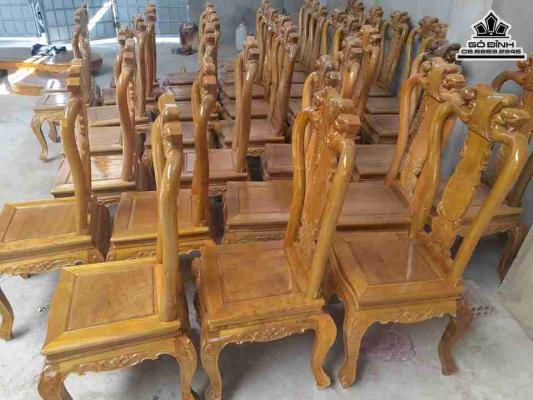Ghế gỗ Dổi