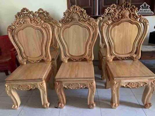 Ghế gỗ Hoàng gia gỗ Pơ Mu